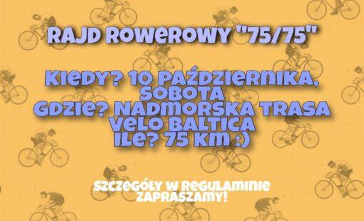 rajd rowerowy 75